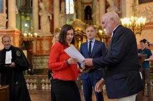 2016.06.09 Diplomu iteikimas Ruzevicius Simonaviciene Ausra