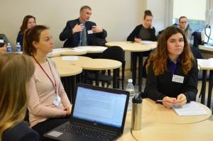 Sveikiname KV programos studentes Justiną Valiukaitę, Modestą Rudinskaitę ir Guodą Butkevičiūtę, pristačiusias pranešimus Studentų mokslinės draugijos SMD konferencijoje!